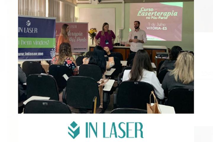 Curso de Laserterapia no Pós – Parto   Vitória – ES   Julho