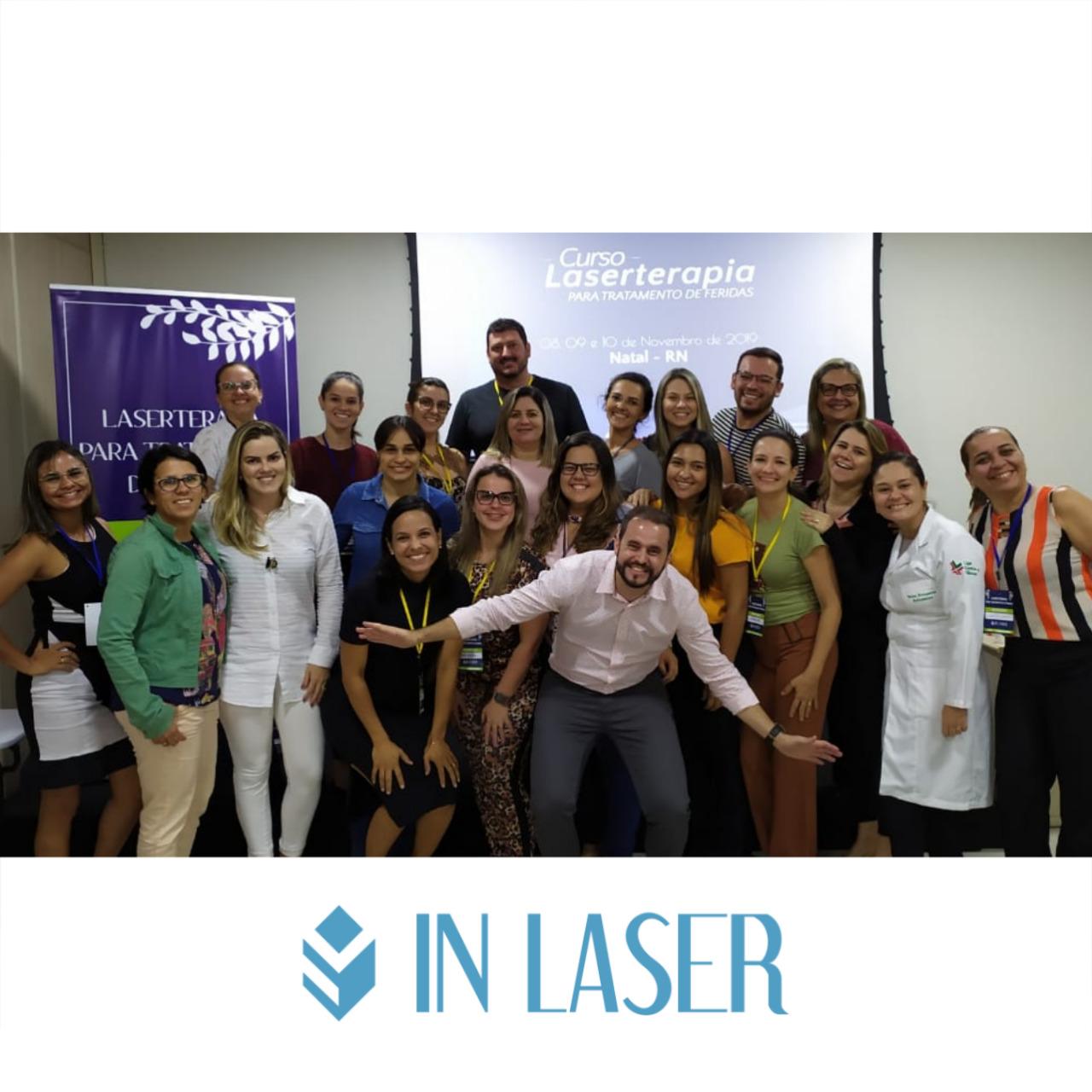 Laserterapia para Tratamento de Feridas   Natal- RN   Novembro de 2019