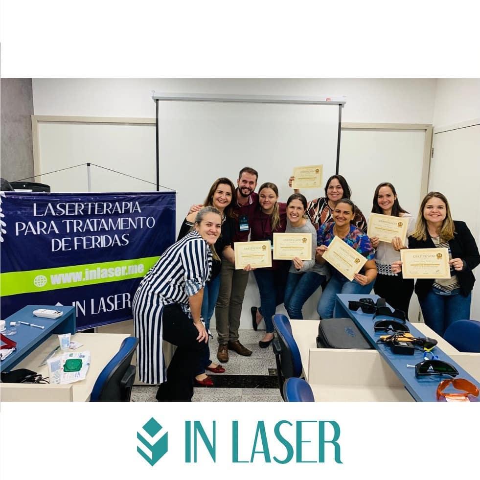 Laserterapia para Tratamento de Feridas   Recife – PE   Julho de 2019