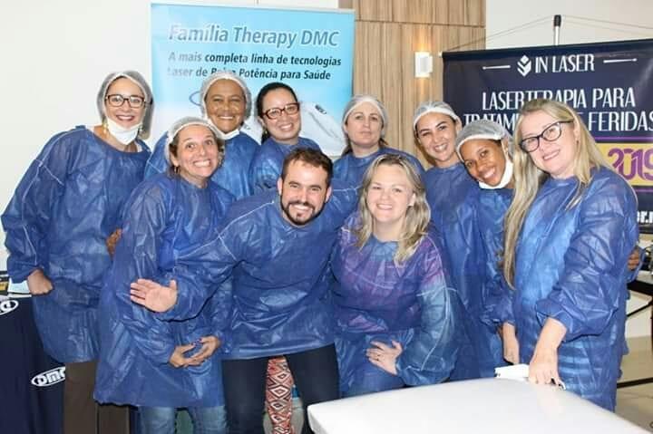 Laserterapia para Tratamento de Feridas   Macaé – RJ   Fevereiro de 2019